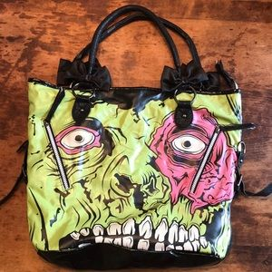 🍋IRON FIST Zombie stomper purse tote bag